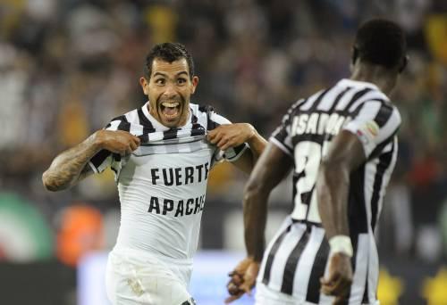 Dopo 5 anni di assenza, torna al gol Tevez in Champions