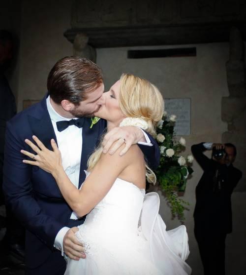 Michelle sposa Tomaso