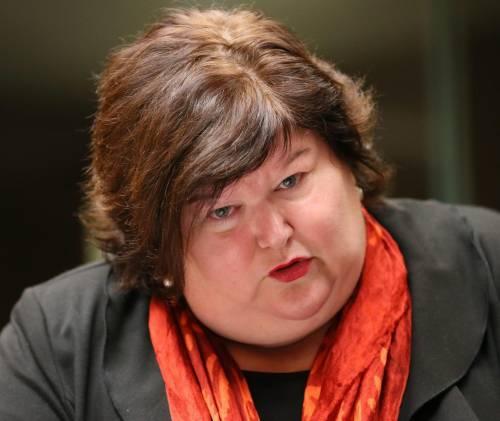 Maggie De Block, medico e titolare della Sanità in Belgio