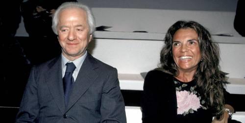 Leonardo Del Vecchio e la moglie Nicoletta Zampillo
