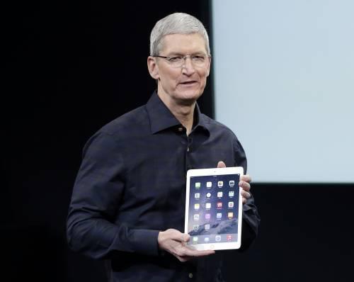 Apple, ecco l'iPad Air 2 Il tablet supersottile