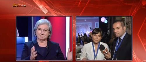 Il Pd si spacca in diretta tv: scontro Bindi - Serracchiani