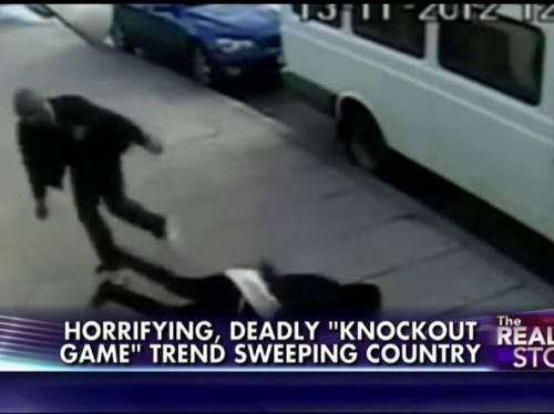 Immagine d'archivio del Knockout game