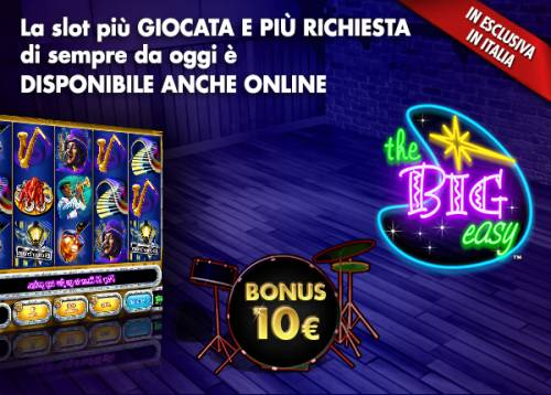 The Big Easy: la slot più giocata arriva in Italia