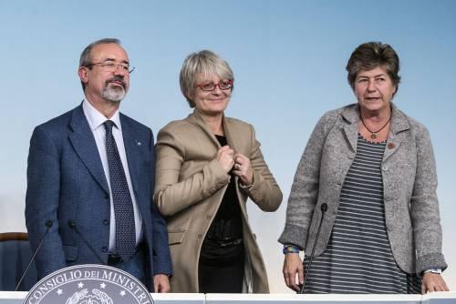 Carmelo Barbagallo, Annamaria Furlan e Susanna Camusso