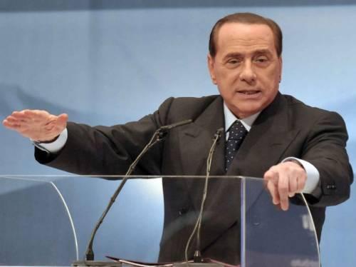 """La ricetta di Berlusconi: """"Rivoluzione fiscale con la flat tax al 20%"""""""