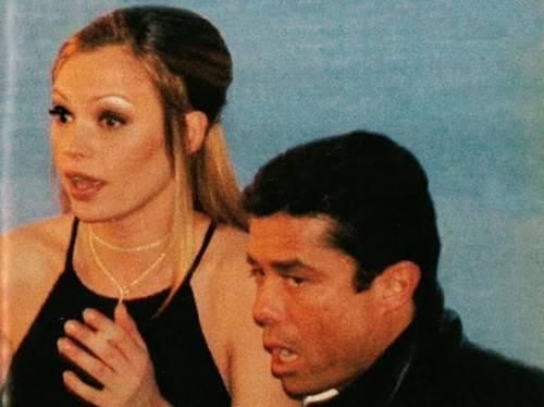 La storia d'amore tra l'ex terrorista nero Riccardo Brugia e Anna Falchi