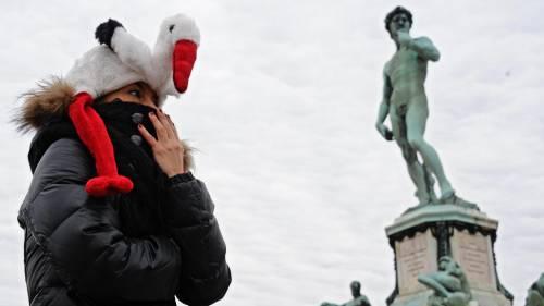Gelo artico sull'Italia: freddo fino a metà settimana