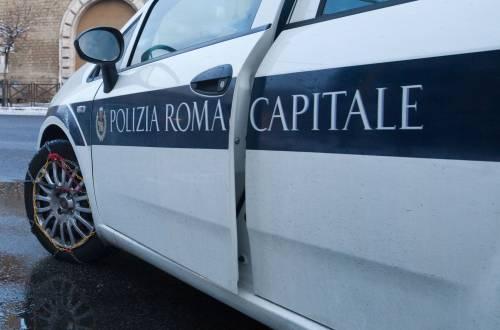 Roma, vigili urbani tamponano un'auto e falsificano i verbali: condannati