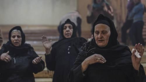 Egitto, la messa di Natale alla Chiesa di San Simeone 4