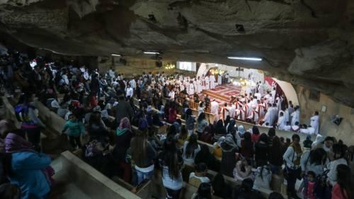 Egitto, la messa di Natale alla Chiesa di San Simeone 5