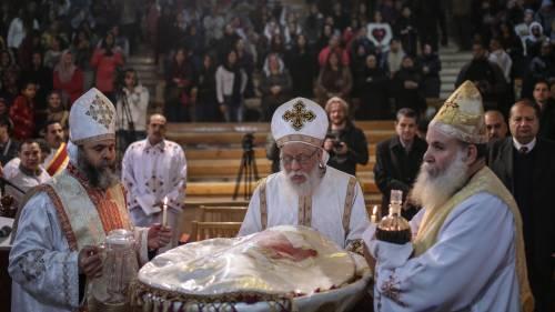 Egitto, la messa di Natale alla Chiesa di San Simeone 8