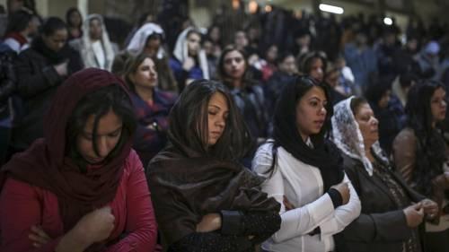 Egitto, la messa di Natale alla Chiesa di San Simeone 10