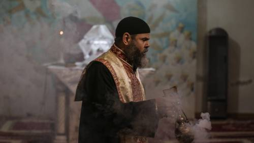 Egitto, la messa di Natale alla Chiesa di San Simeone 12
