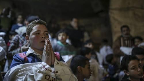 Egitto, la messa di Natale alla Chiesa di San Simeone 11