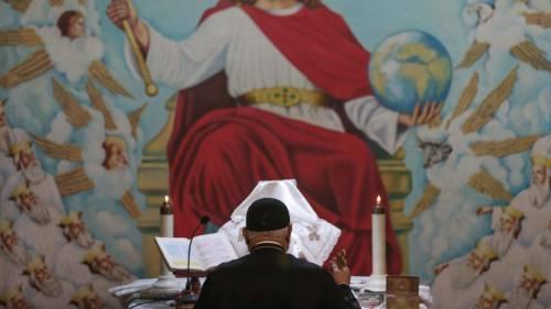 Egitto, la messa di Natale alla Chiesa di San Simeone 2