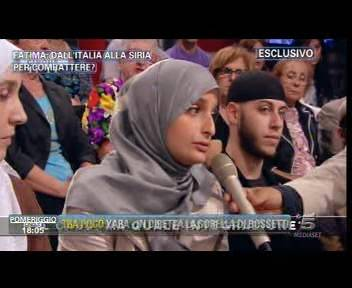 """Fatima, chiesti 9 anni: """"Combatte per l'Isis"""""""