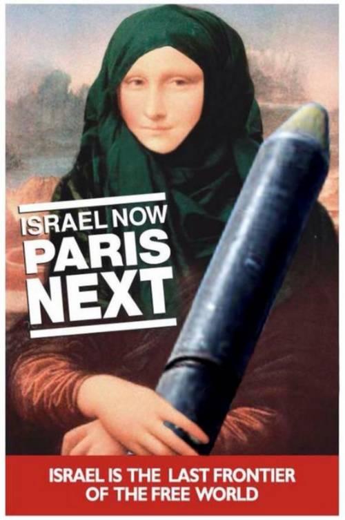 "Gli ebrei irlandesi: ""La Gioconda ha il velo, tornate in Israele"""