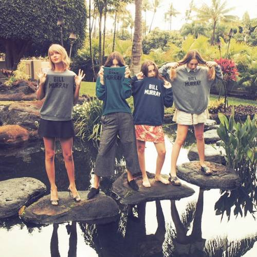 Taylor Swift: in vacanza con le sorelle Haim 2
