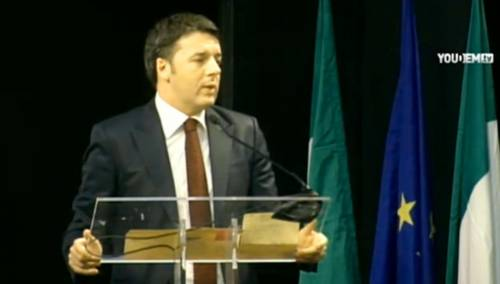 Il premier Matteo Renzi incontra i grandi elettori del Pd