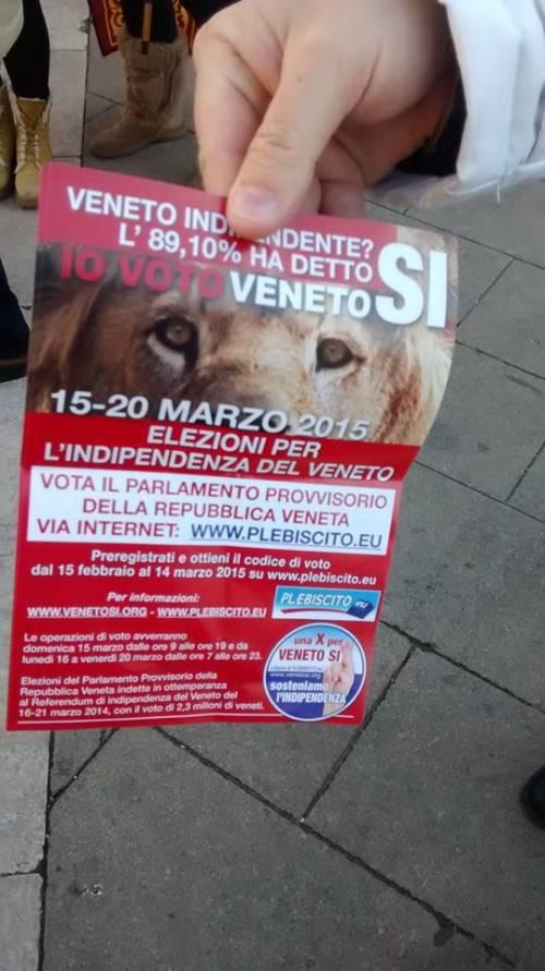 Veneto, la marcia indipendentista 6