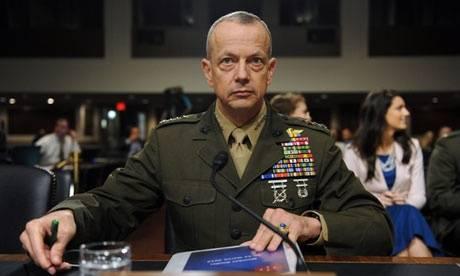 Il generale Usa John Allen