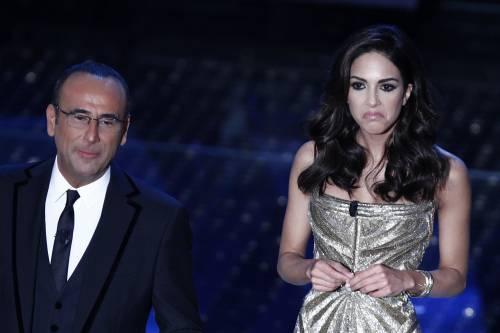 Rocio Morales sceglie un sexy-abito a sirena