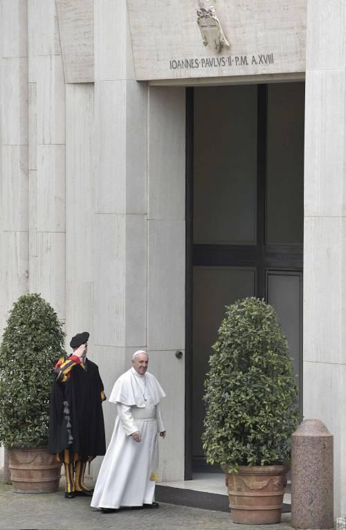 Papa Francesco rientra a Santa Marta