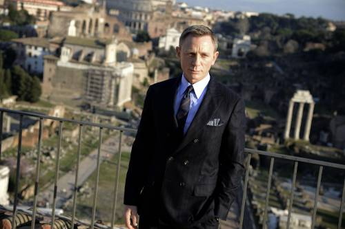 """Domani a Roma il primo ciak di """"Spectre"""", l'ultimo 007 20"""