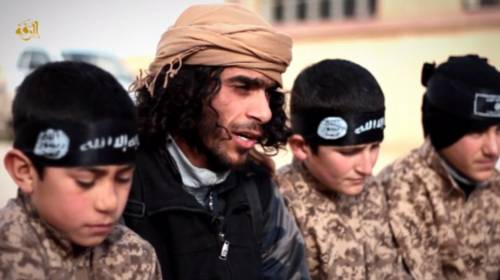 I baby jihadisti del Califfato 7