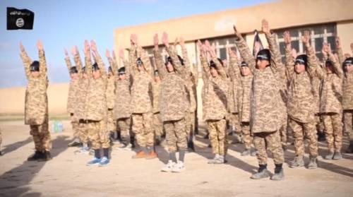 I baby jihadisti del Califfato 5