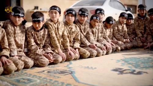 I baby jihadisti del Califfato