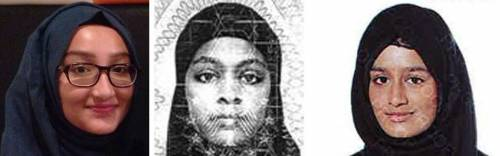 Kadiza Sultana, Amira Abase e Shamima Begum
