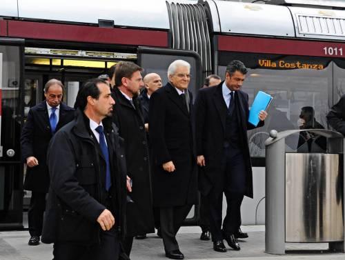 Mattarella va a Firenze in treno e tram 3