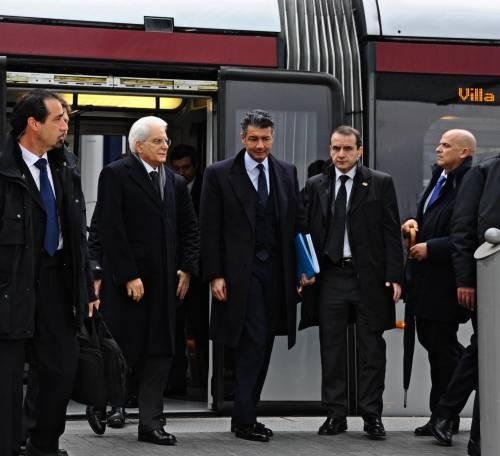 Mattarella va a Firenze in treno e tram 7