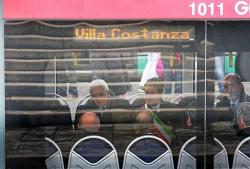 Mattarella va a Firenze in treno e tram 10