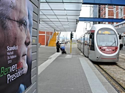 Mattarella va a Firenze in treno e tram 11