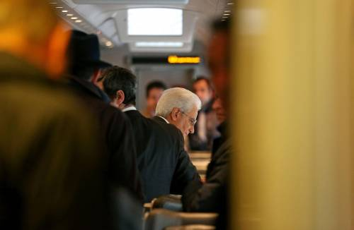 Mattarella va a Firenze in treno e tram 15