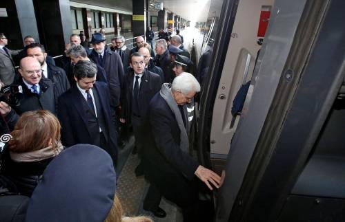 Mattarella va a Firenze in treno e tram 14