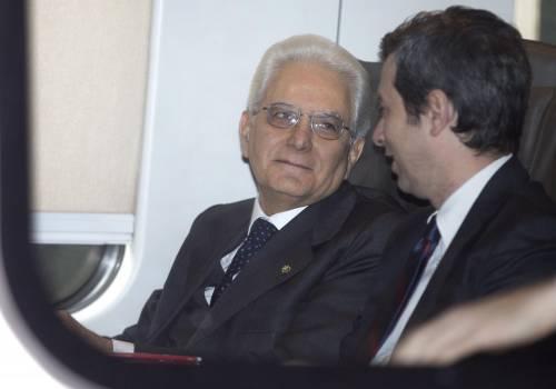 Mattarella va a Firenze in treno e tram 16