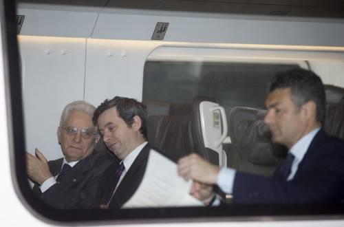 Mattarella va a Firenze in treno e tram 12