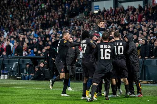 Europa League, sospesa Roma Feyenoord, giallorossi agli ottavi