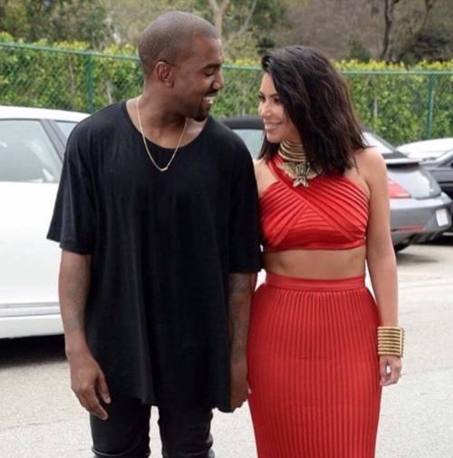 Kim Kardashian foto private con Kanye West 5