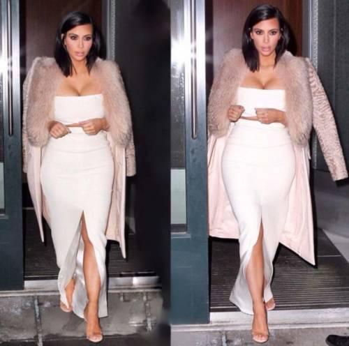 Kim Kardashian foto private con Kanye West 8
