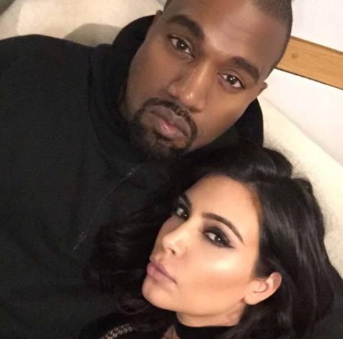 Kim Kardashian foto private con Kanye West 17