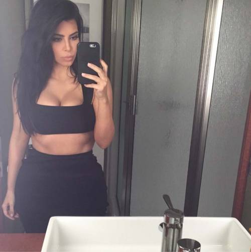 Kim Kardashian foto private con Kanye West 20