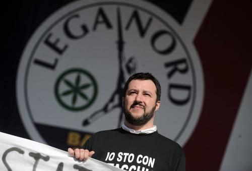 """Il """"vaffa"""" di Salvini a Renzi censurato dalla Rai"""