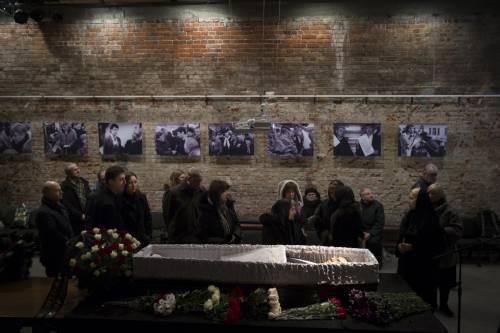 I funerali di Boris Nemtsov 2