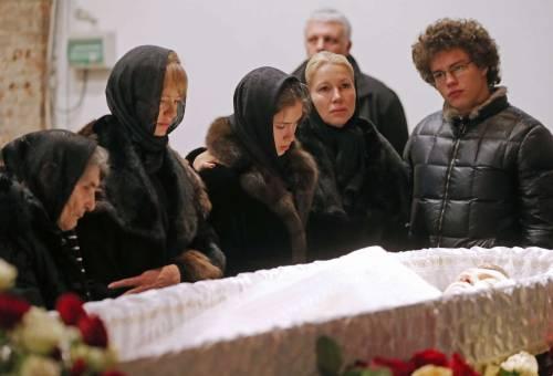 I funerali di Boris Nemtsov 1
