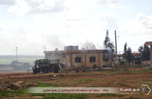 Il quartier generale di Harakat Hazm 5